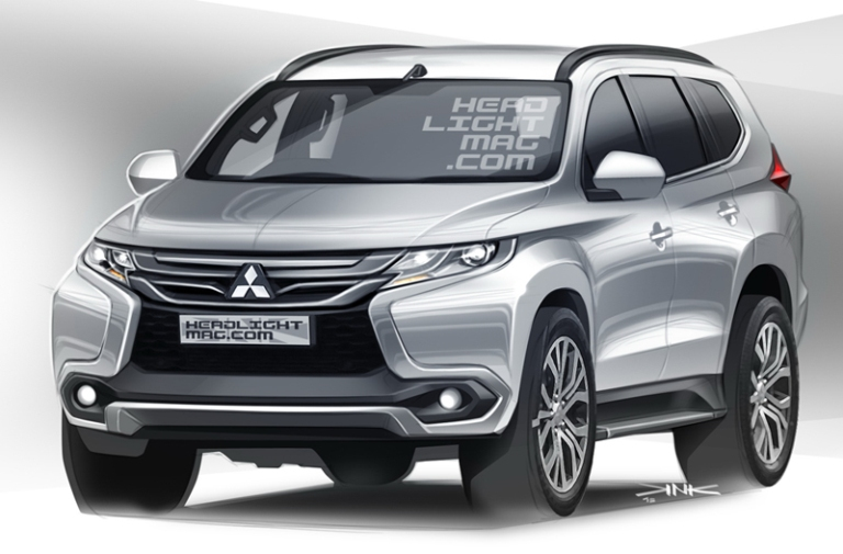 2016 mitsubishi pajero sport masterfully rendered autoevolution