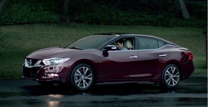 2016 Nissan Maxima Shown During Super Bowl Ad Quot With Dad
