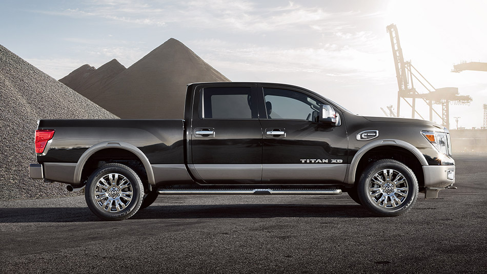 2016 nissan titan xd diesel pricing announced autoevolution. Black Bedroom Furniture Sets. Home Design Ideas