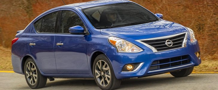 2016 nissan versa pricing announced the entry level version costs 11 990 autoevolution. Black Bedroom Furniture Sets. Home Design Ideas