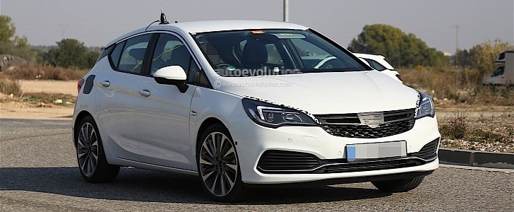 2016 opel astra gsi looks ready to take on the vw gti in these