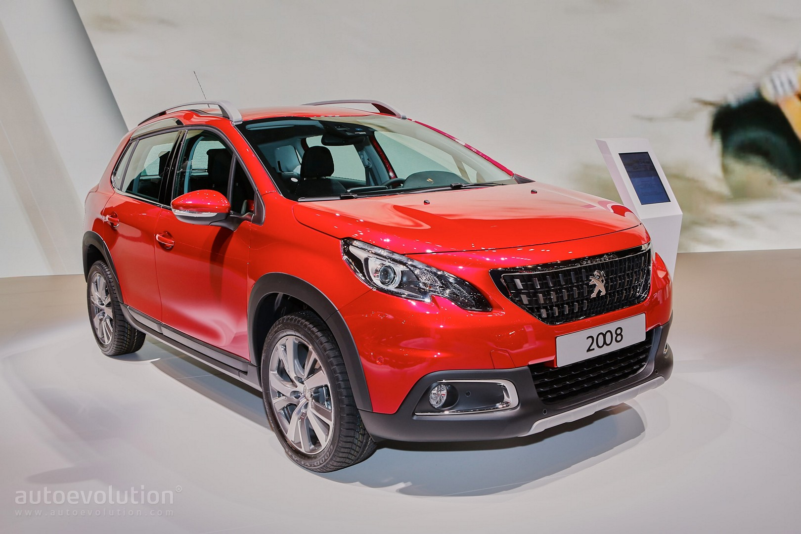 2016 peugeot 2008 facelift joins opel mokka x for geneva crossover shootout autoevolution. Black Bedroom Furniture Sets. Home Design Ideas