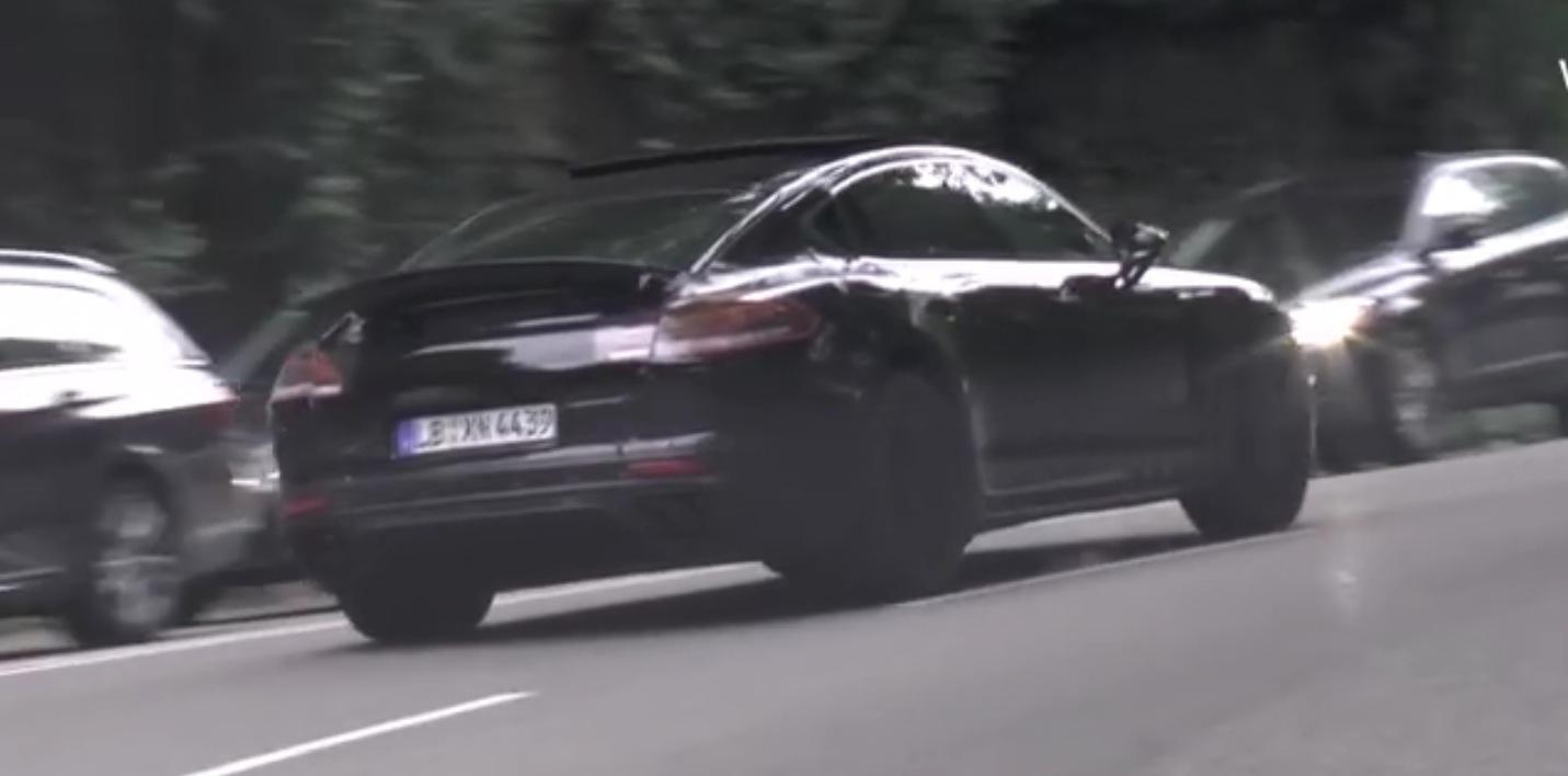 2016 porsche panamera looks like a 911 4-door in latest spy video