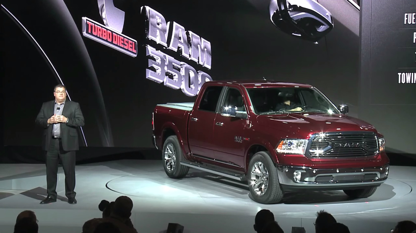 2016 ram heavy duty pickup truck detailed autoevolution. Black Bedroom Furniture Sets. Home Design Ideas