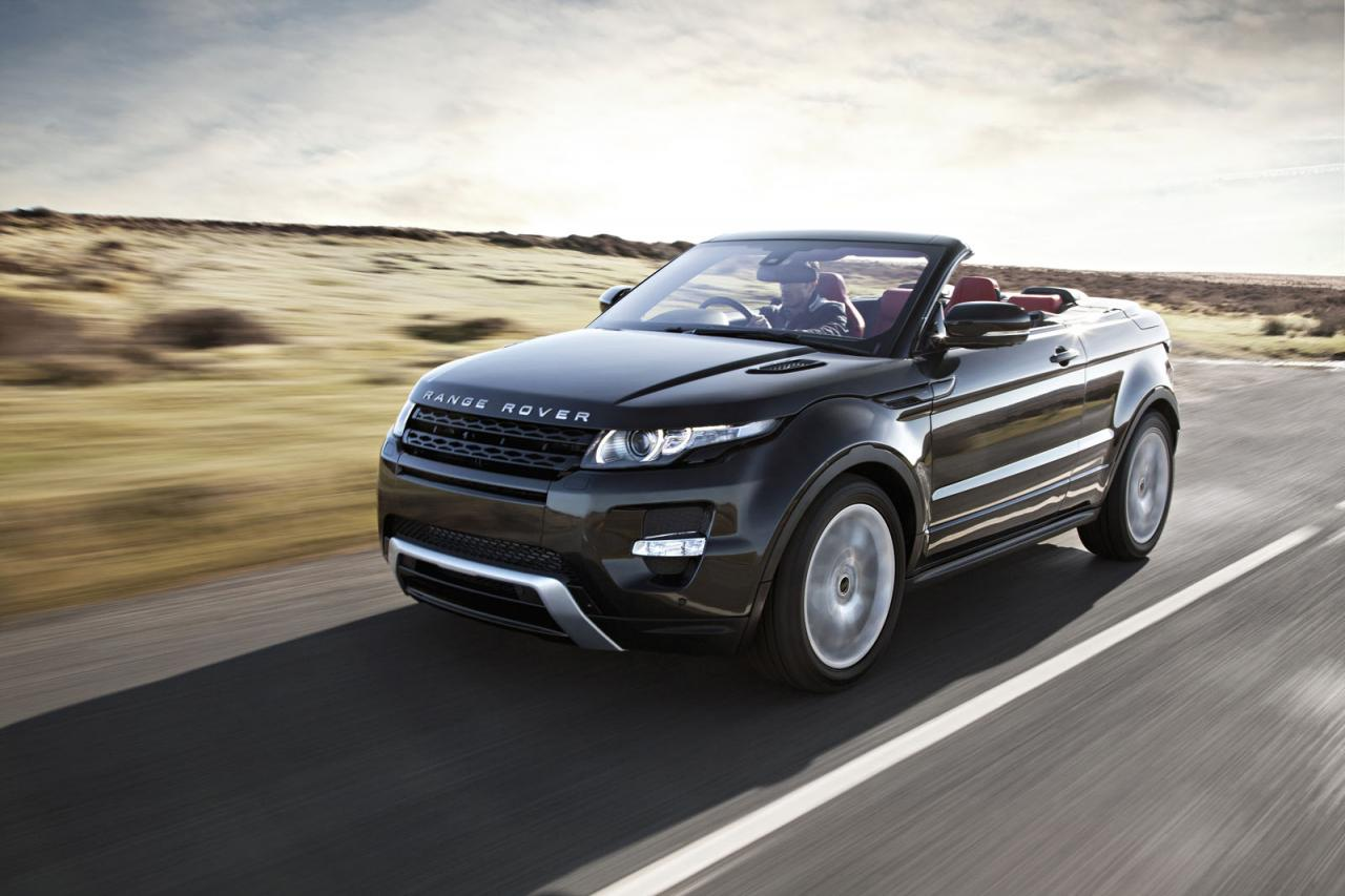 2016 range rover evoque cabrio filmed undergoing nurburgring testing autoevolution. Black Bedroom Furniture Sets. Home Design Ideas