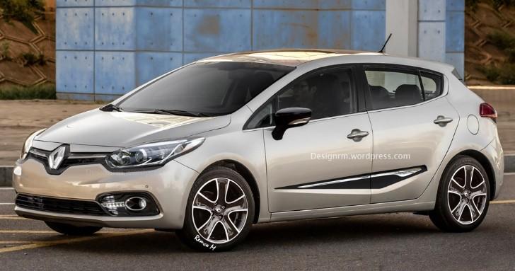 2016 Renault Megane 4 Rendered