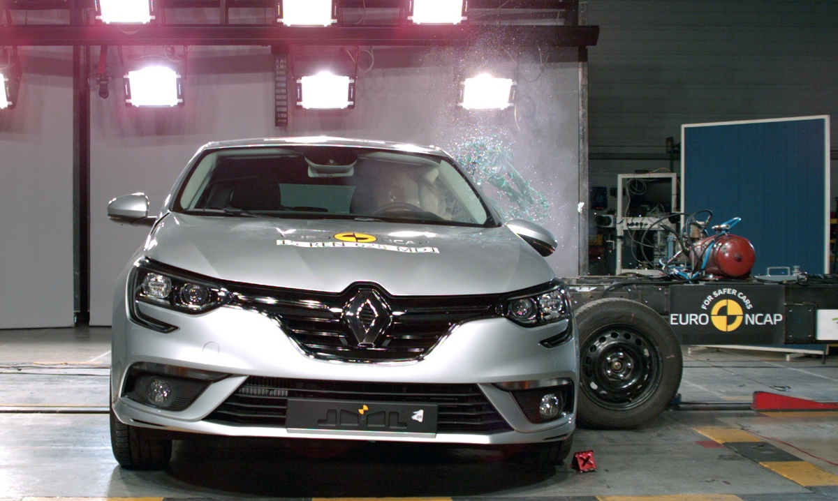 2016 Renault Megane Crash Test Results Released By Euro Ncap
