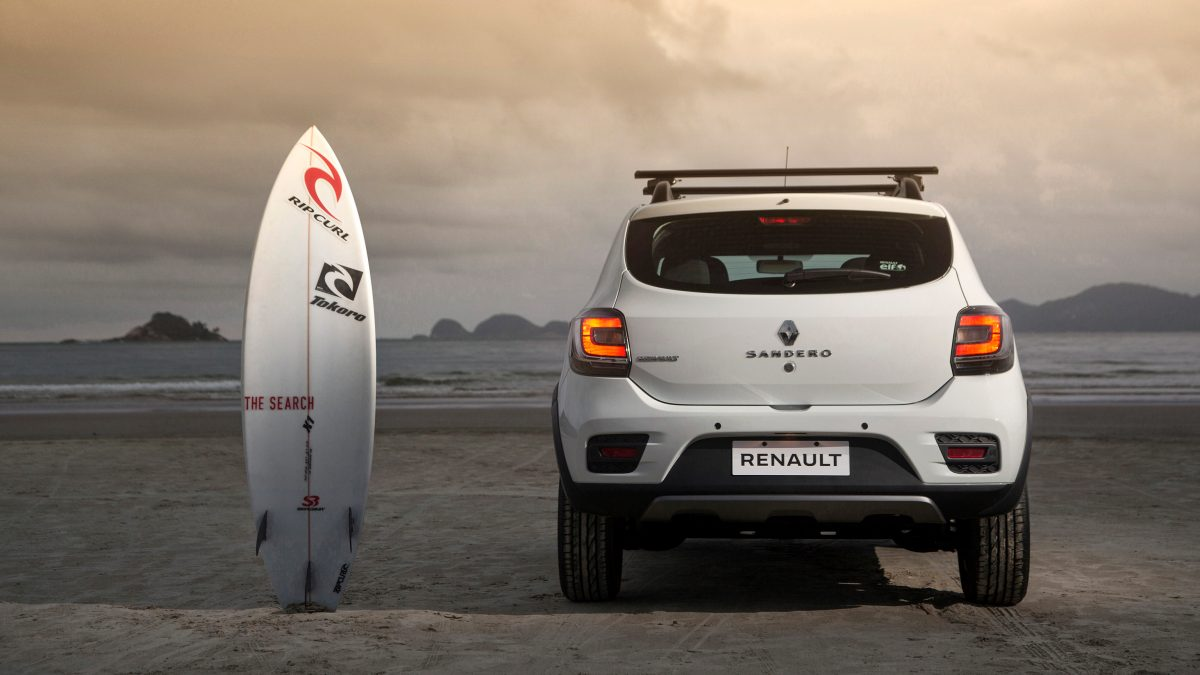 2016 Renault Sandero Stepway Rip Curl Launched in South ...