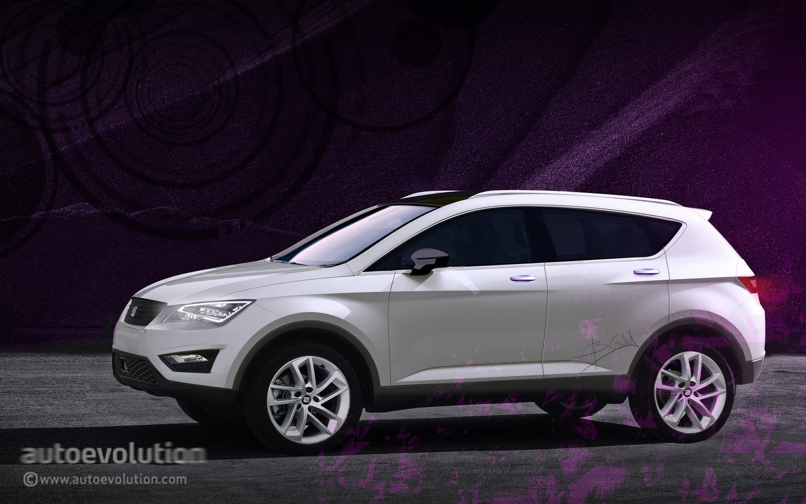 2016 seat suv to be called prostyle will feature familiar design autoevolution. Black Bedroom Furniture Sets. Home Design Ideas