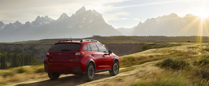 2016 subaru xv crosstrek special edition gets pure red exterior color autoevolution. Black Bedroom Furniture Sets. Home Design Ideas