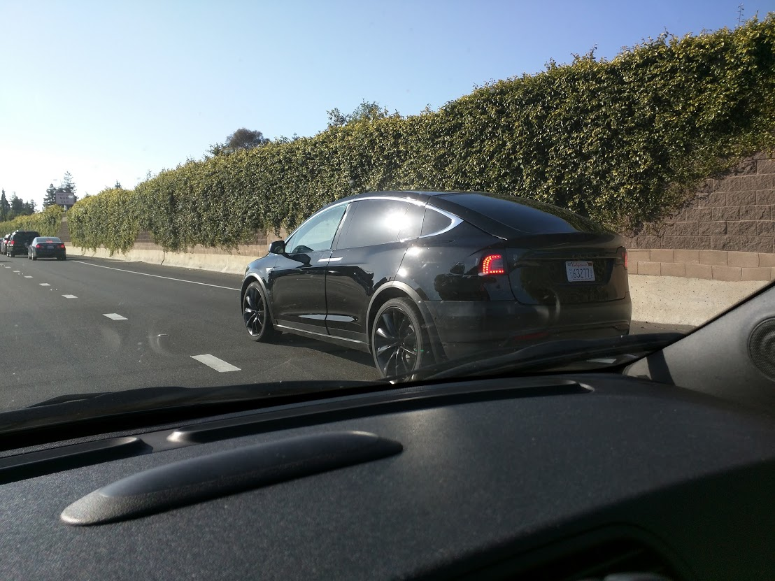 2016 Tesla Model X Spotted In California Looks Like A