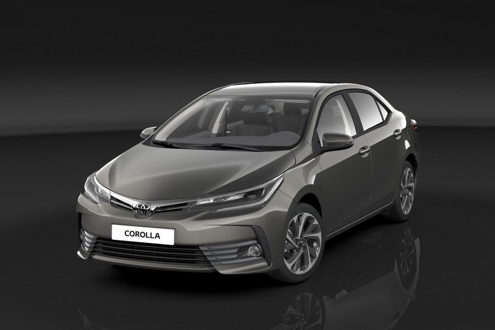 2016 toyota corolla facelift for european market revealed autoevolution. Black Bedroom Furniture Sets. Home Design Ideas