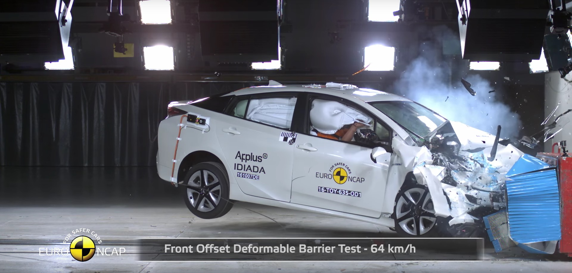 2016 Toyota Prius Earns 5 Stars from Euro NCAP autoevolution