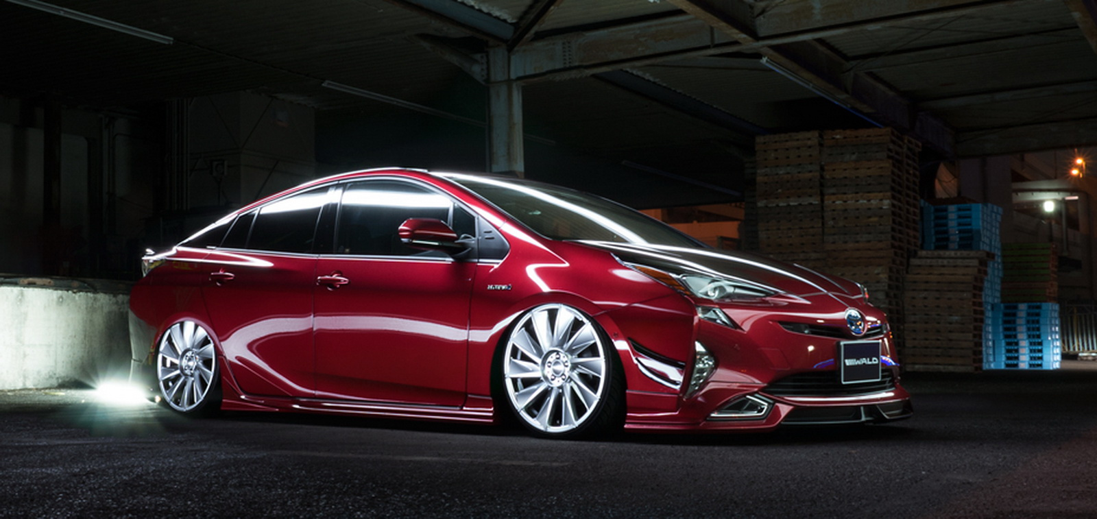 2016 toyota prius tuned by wald looks decent autoevolution