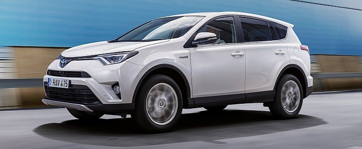 2016 toyota rav4 hybrid one limited edition marks european debut of the prius suv autoevolution. Black Bedroom Furniture Sets. Home Design Ideas