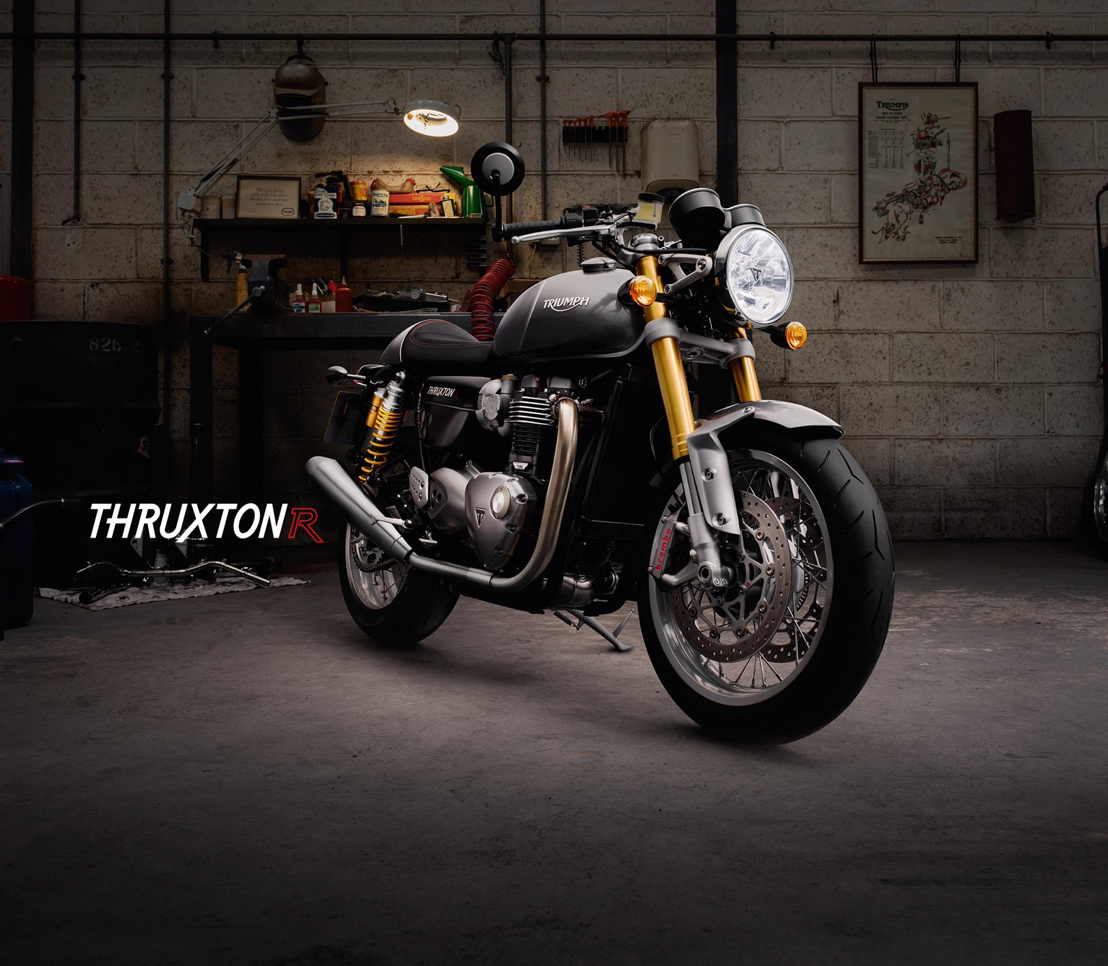 2016 Triumph Thruxton And Thruxton R Shown Looking Like