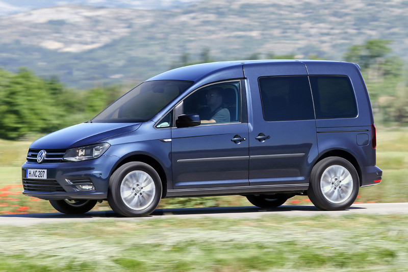 2016 Volkswagen Caddy with Natural Gas and DSG Debuts in Geneva