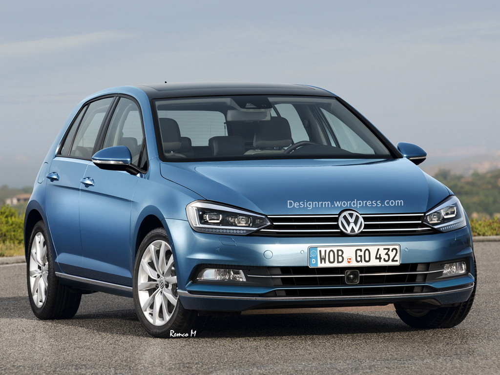 2016 Volkswagen Golf and Golf GTI Speculatively Rendered ...