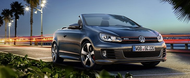 2016 volkswagen golf gti cabriolet launched for 37 075 loses weight and manual autoevolution. Black Bedroom Furniture Sets. Home Design Ideas