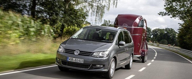 2016 Volkswagen Sharan Gets 20 Tdi 184 Ps With 7 Speed Dsg And