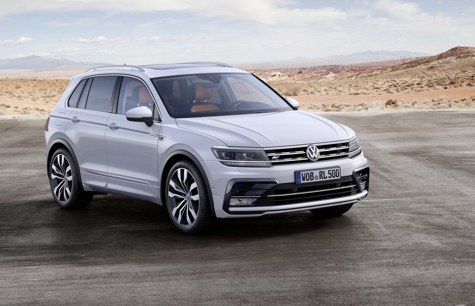 All Types tiguan length : 2016 Volkswagen Tiguan Shows Up at the Frankfurt Motor Show ...