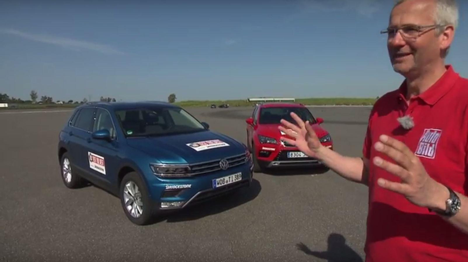2016 Volkswagen Tiguan vs. SEAT Ateca Review Finds Hidden Spanish ...