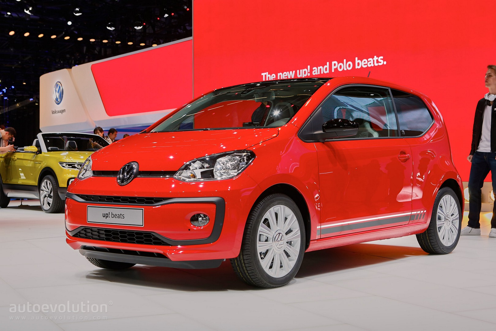 2016 volkswagen up beats and polo beats debut in geneva autoevolution. Black Bedroom Furniture Sets. Home Design Ideas