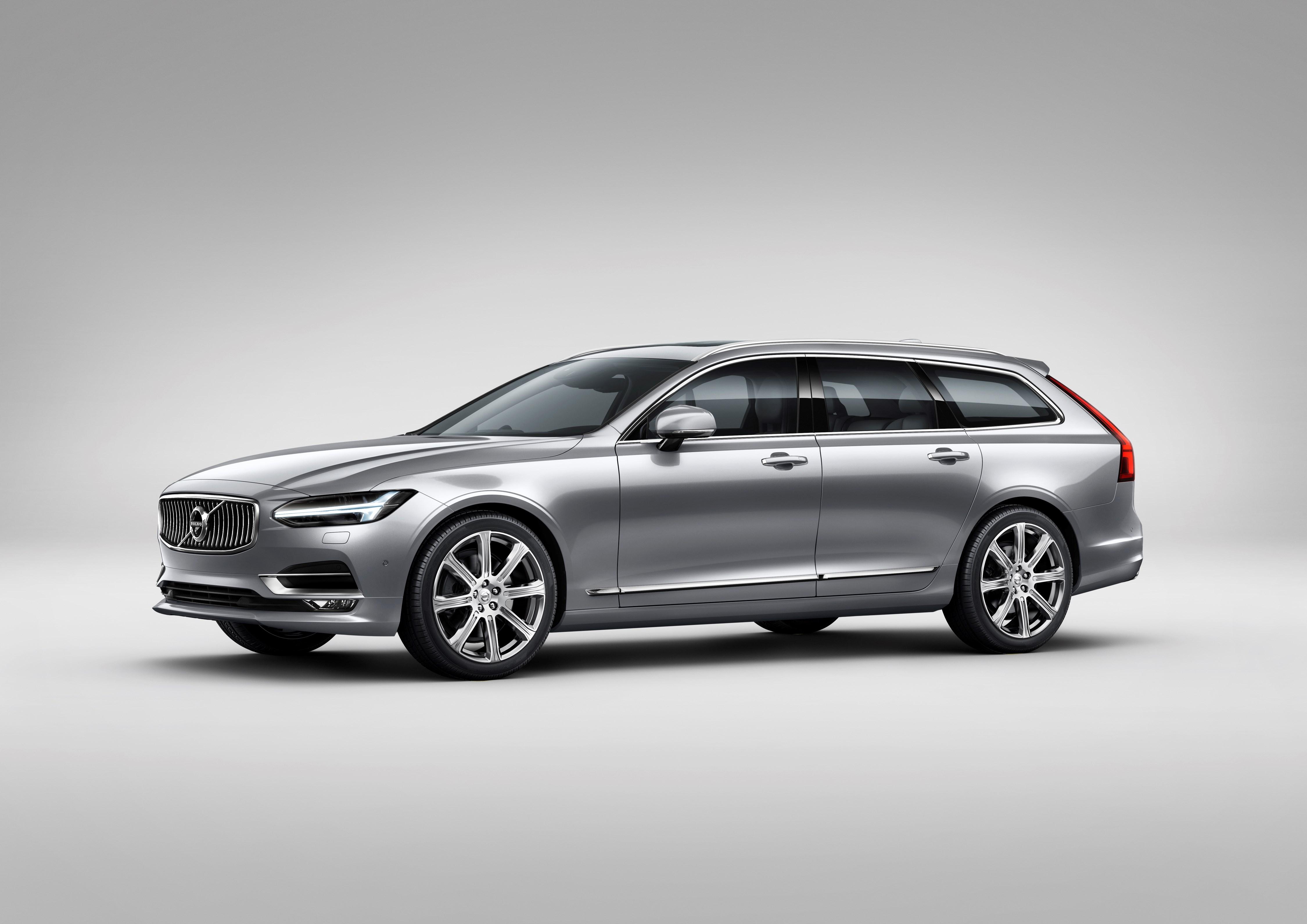 S80 Volvo 2017 >> 2016 Volvo V90 Wagon Officially Revealed In Sweden Autoevolution