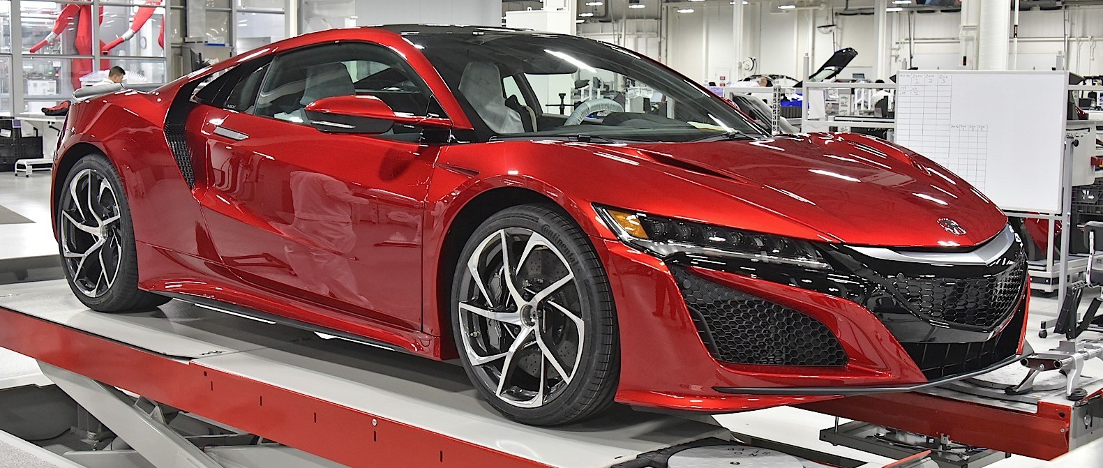 2017 Acura Nsx To Receive Hennessey Performance Kit Twin