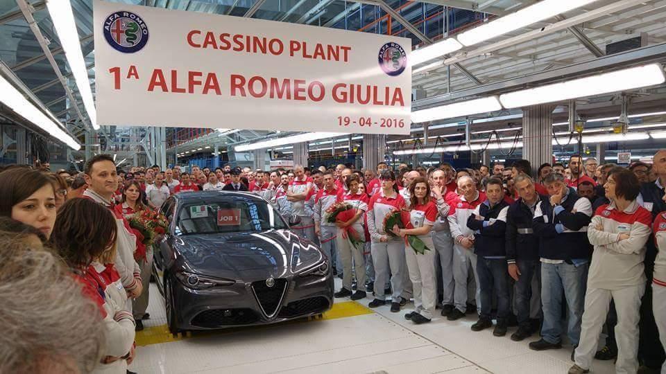 2017 Alfa Romeo Giulia Production Has Just Started at ...