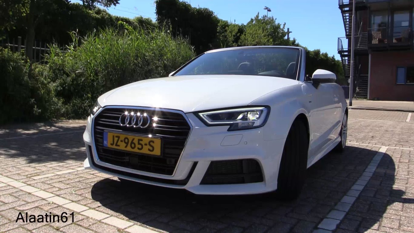 2017 Audi A3 Cabriolet Full Walkaround Video Has Drone Footage