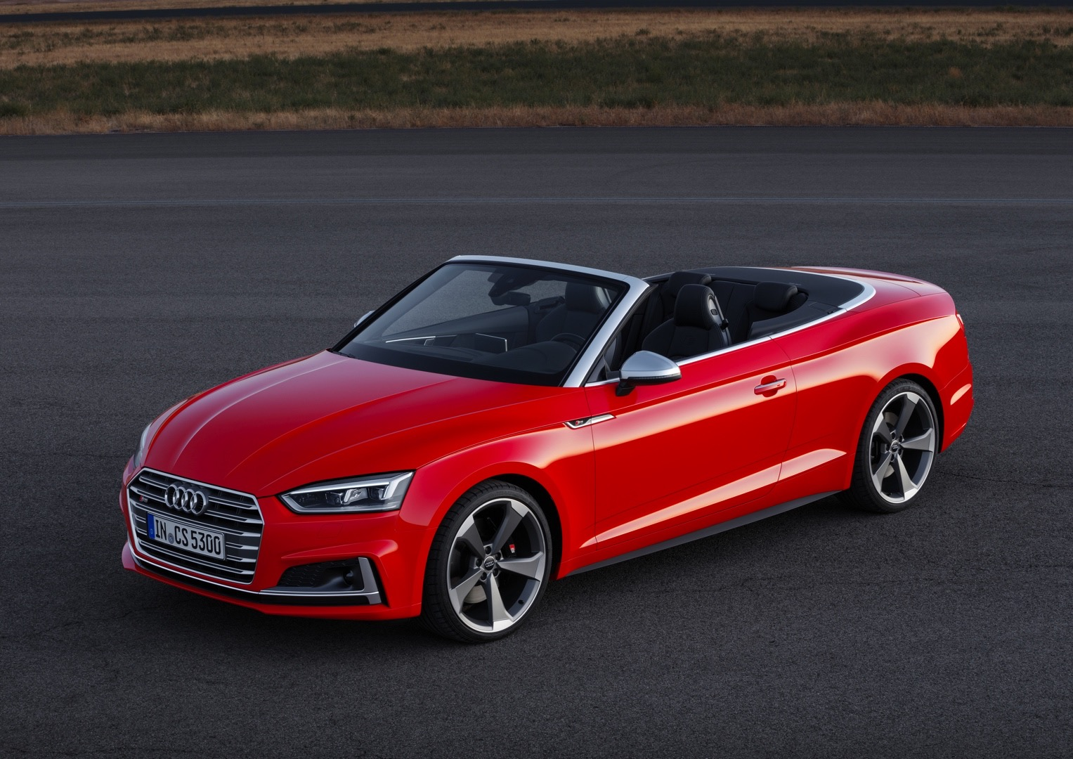 2017 audi a5 cabriolet and 2017 audi s5 cabriolet presented ahead of la debut autoevolution. Black Bedroom Furniture Sets. Home Design Ideas