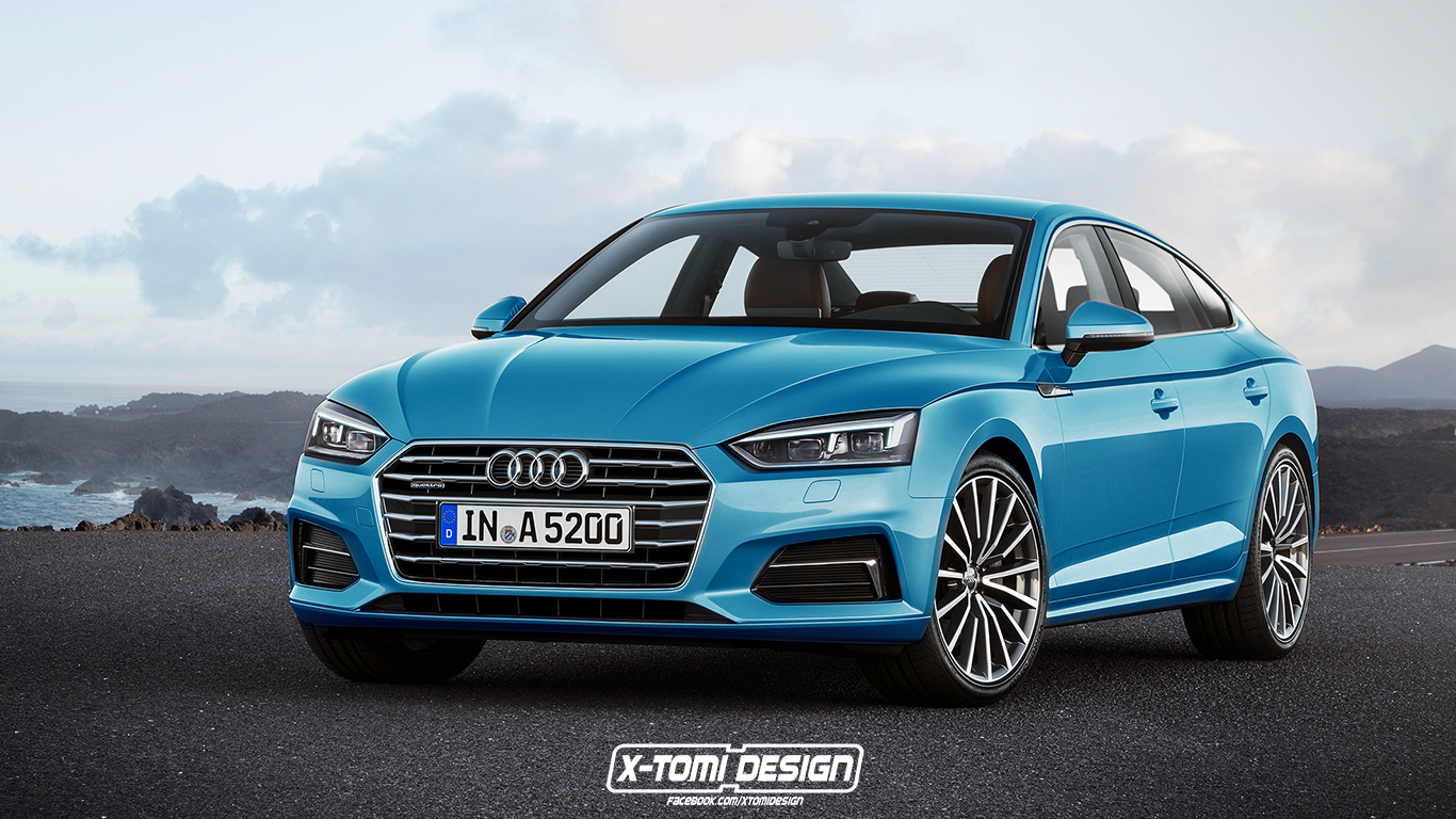 2017 audi a5 sportback and convertible will look like this autoevolution. Black Bedroom Furniture Sets. Home Design Ideas
