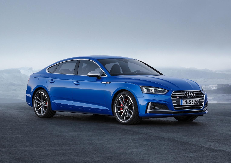 2017 Audi A5 Sportback Debuts Alongside g-tron & S5 Sportback ...
