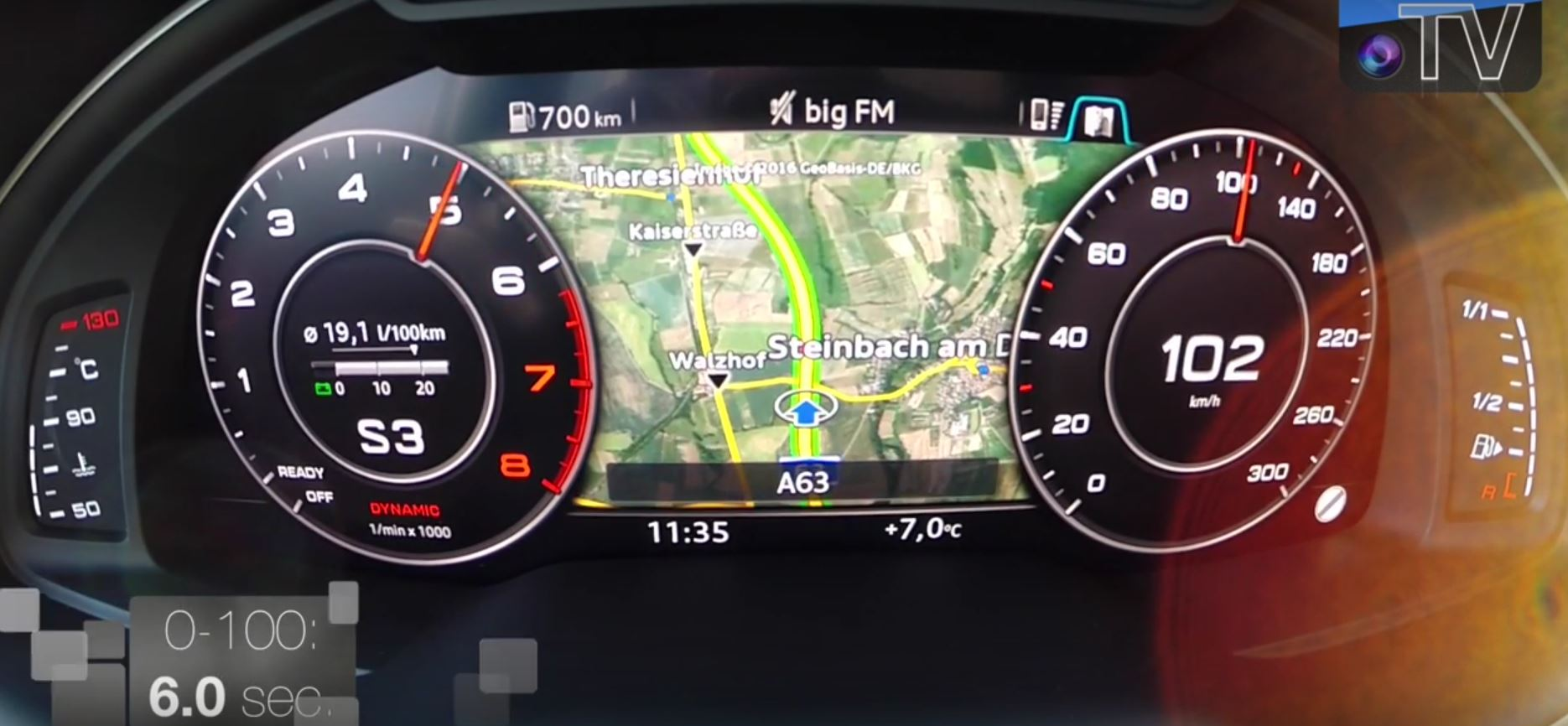 Audi Q Tfsi Acceleration Test To Km H In Seconds