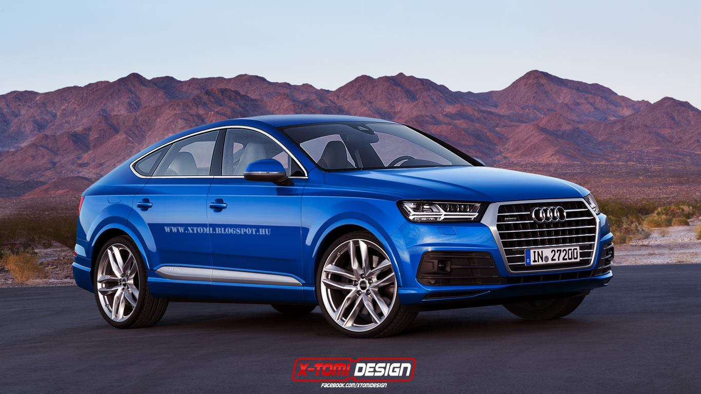 2017 Audi Q8 Rendered As Bmw X6 And Mercedes Gle Coupe