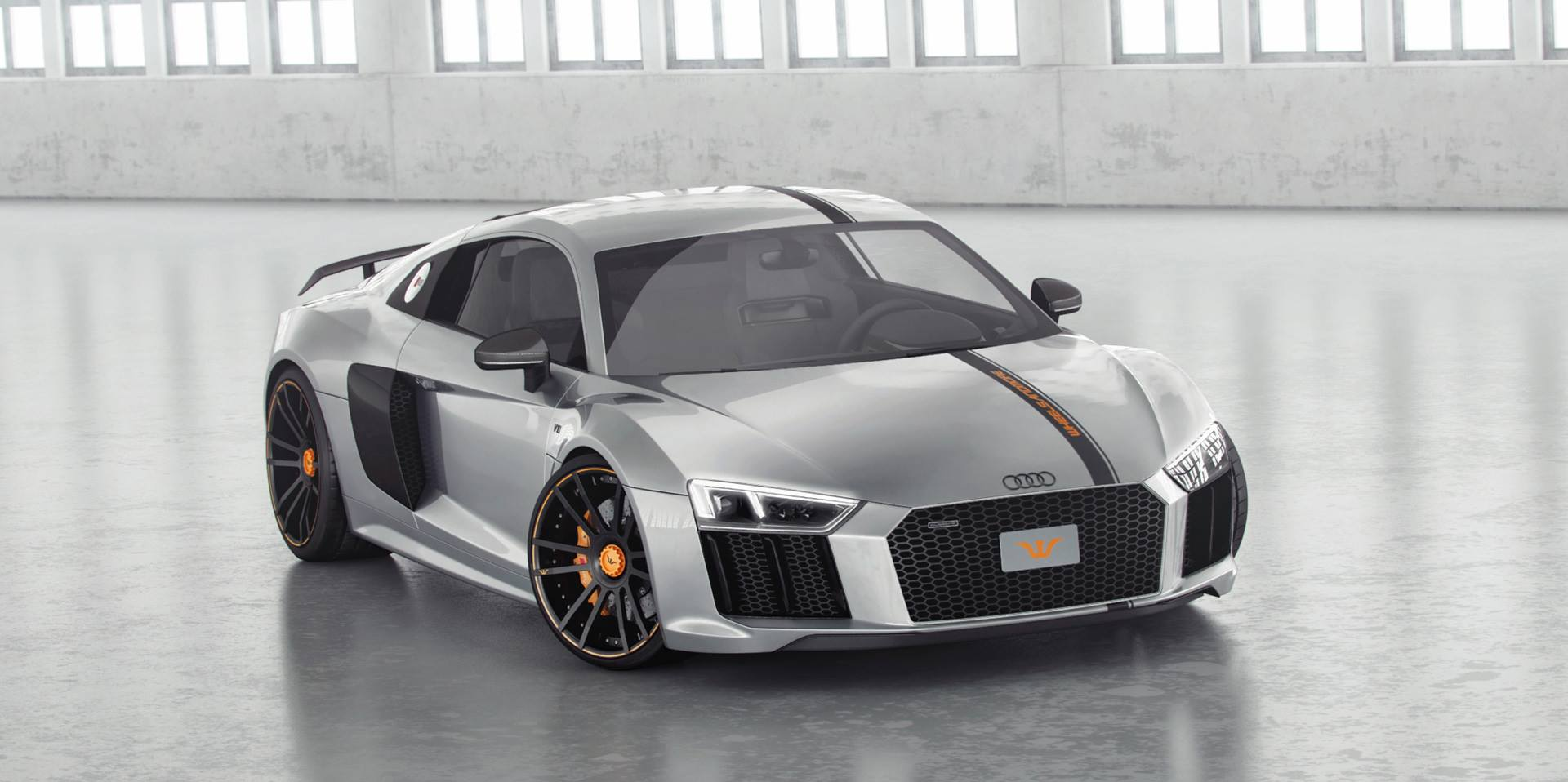 2017 Audi R8 by Wheelsandmore Has 850 HP and Looks Decent - autoevolution