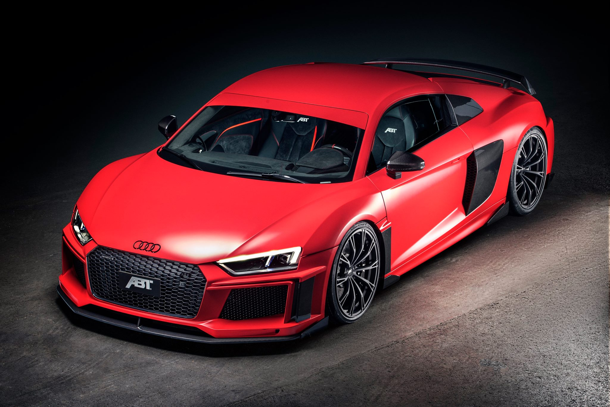 2017 audi r8 is finally beautiful thanks to abt body kit autoevolution. Black Bedroom Furniture Sets. Home Design Ideas