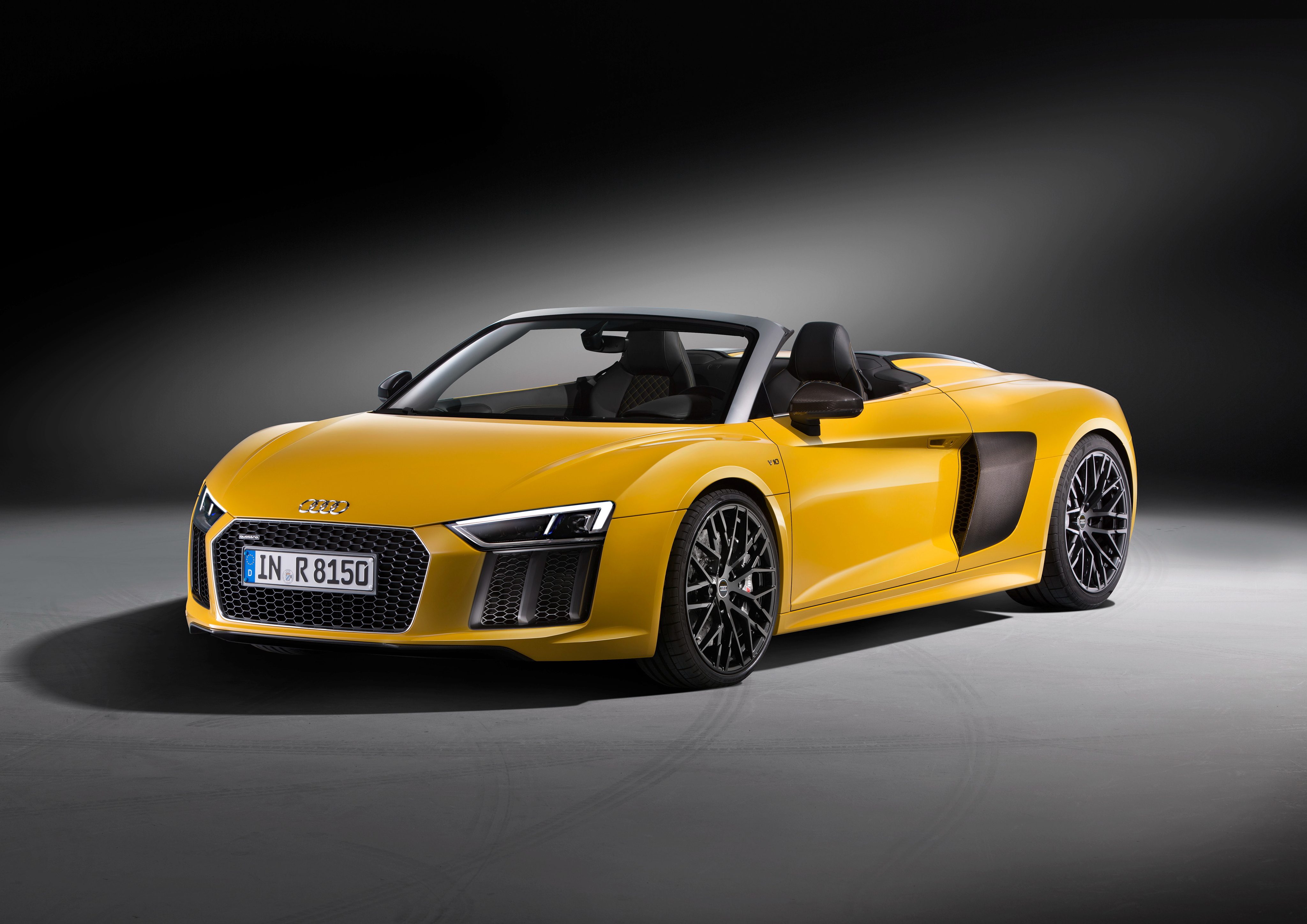 2017 Audi R8 Spyder Price Set From 179 000 In Germany