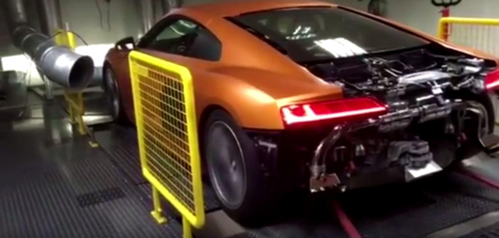 2017 Audi R8 V10 Gets Capristo Exhaust Dynos At 630 Hp Autoevolution
