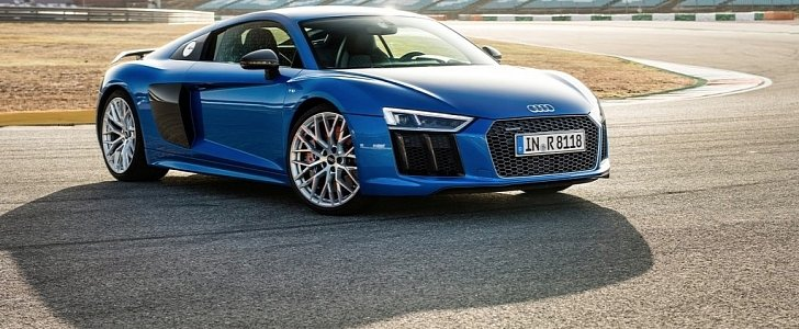 2017 Audi R8 V10 Plus Beats Lamborghini Huracan in 0-60 MPH and Braking Tests - autoevolution