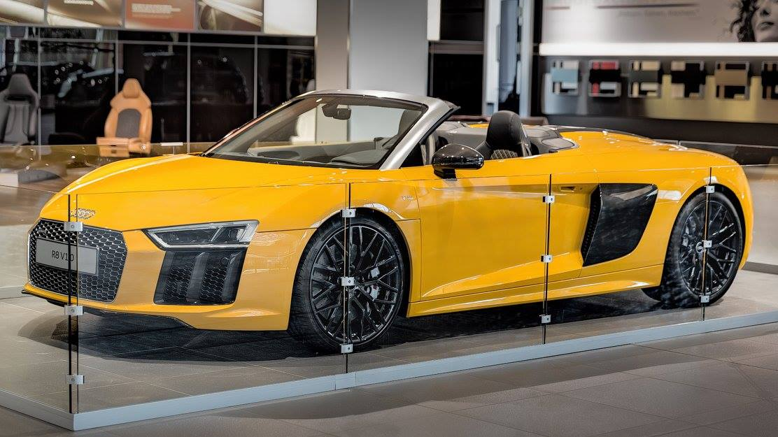 2017 Audi R8 V10 Spyder Launched From 175 100 Autoevolution