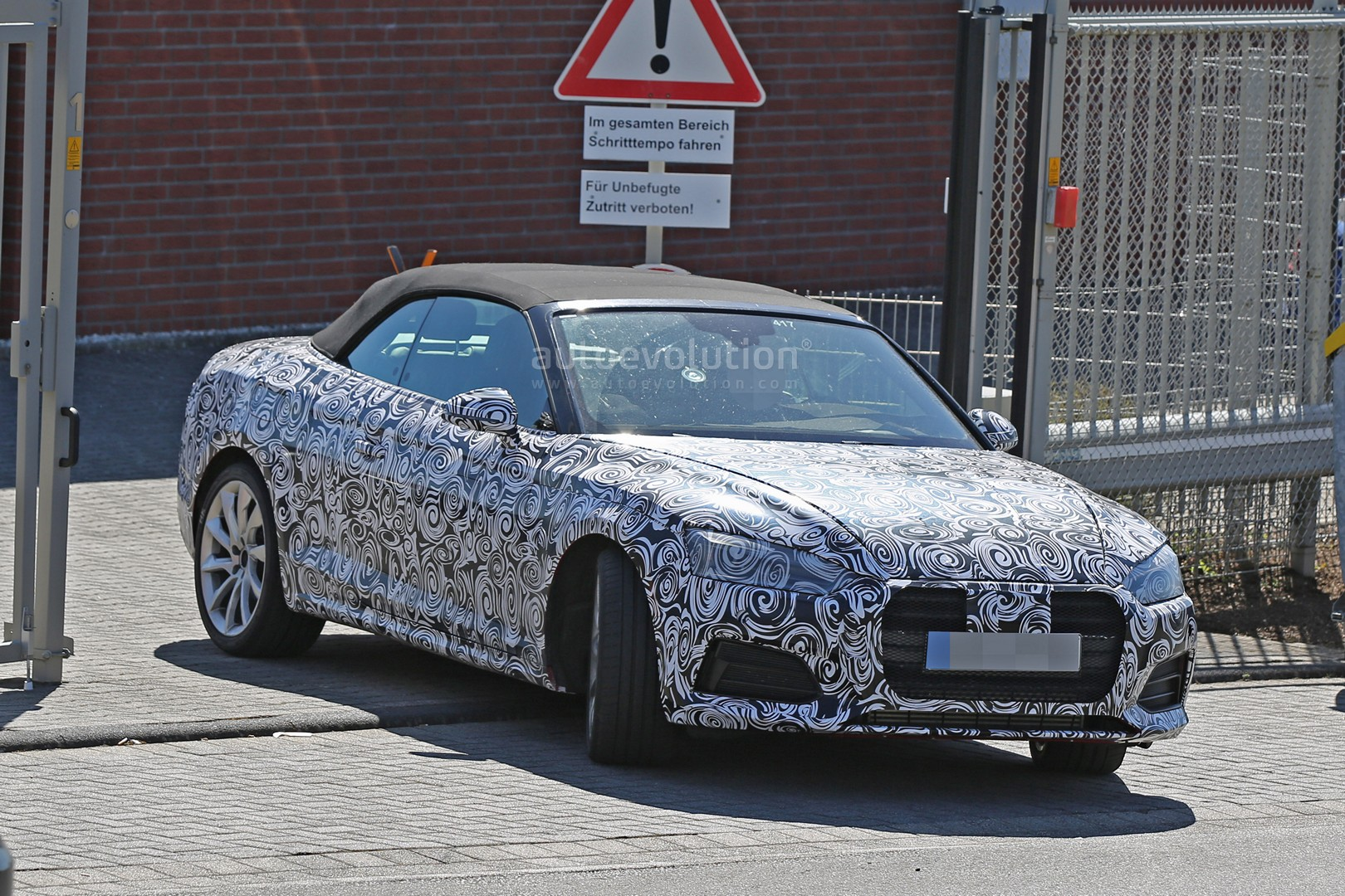 2017 Audi S5 Cabriolet Reveals Bold Front End in 'Ring Spy ...