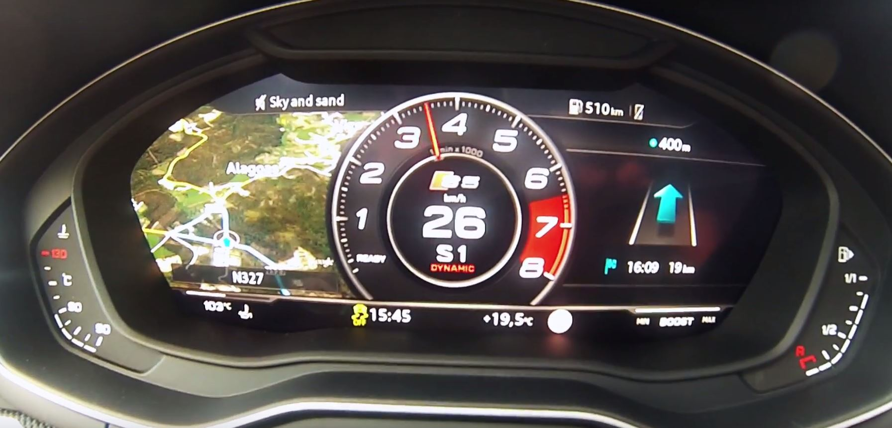 2017 Audi S5 Coupe And S4 Sedan Subjected To Acceleration Test