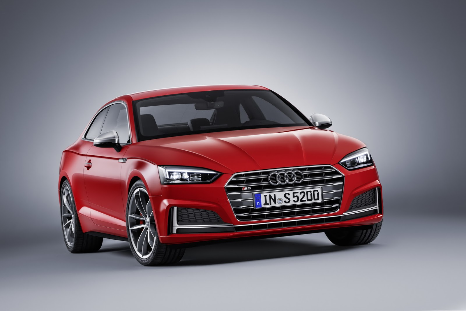 2017 Audi S5 Coupe Debuts With 354 Hp Turbocharged V6