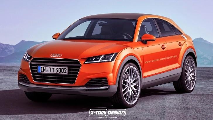 2017 Audi TTQ Rendered - autoevolution