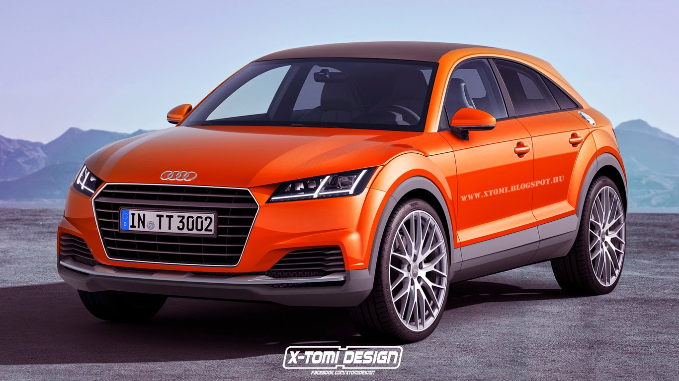 2017 Audi TTQ Rendered - autoevolution