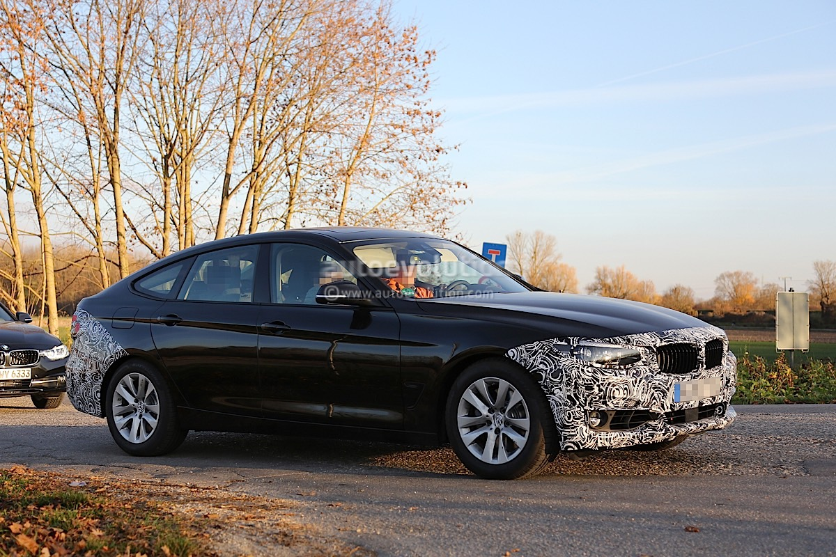 2017 Bmw 3 Series Gt Spied Without M Sport Package Autoevolution