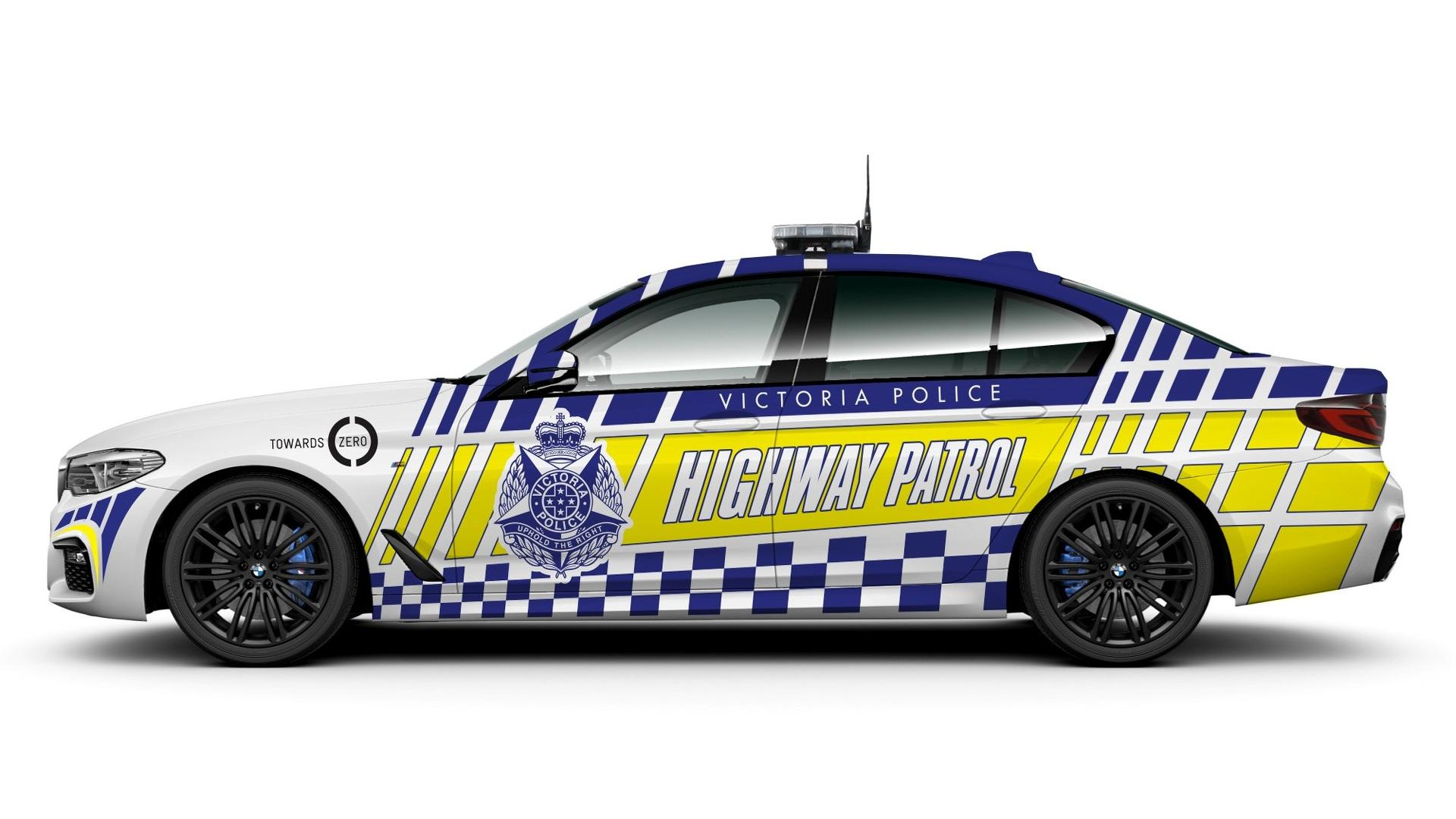 2017 Bmw 530d Police Cars Yes In Victoria Australia