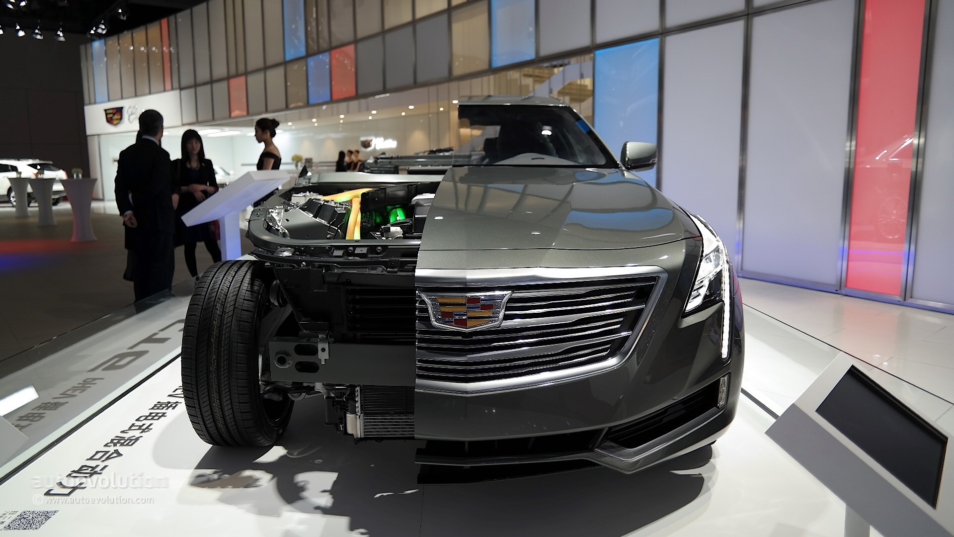2017 cadillac ct6 plug in order guide reveals only one well equipped trim level autoevolution. Black Bedroom Furniture Sets. Home Design Ideas